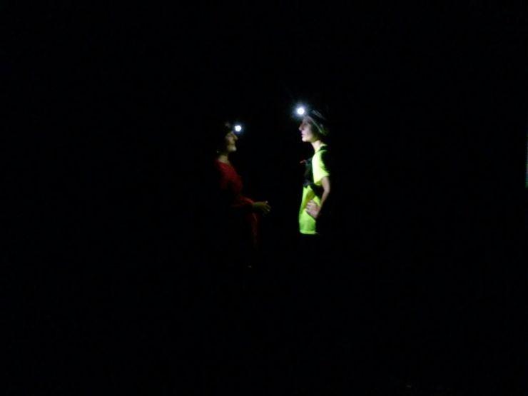 Salita in notturna al Forte Diamante
